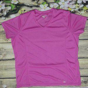 XERSION Pink Performance Wear Workout Shirt XL